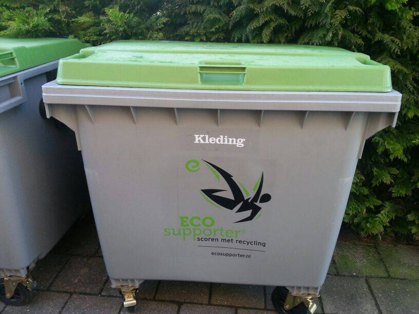 Eco Supporter stopt! Containers weg!