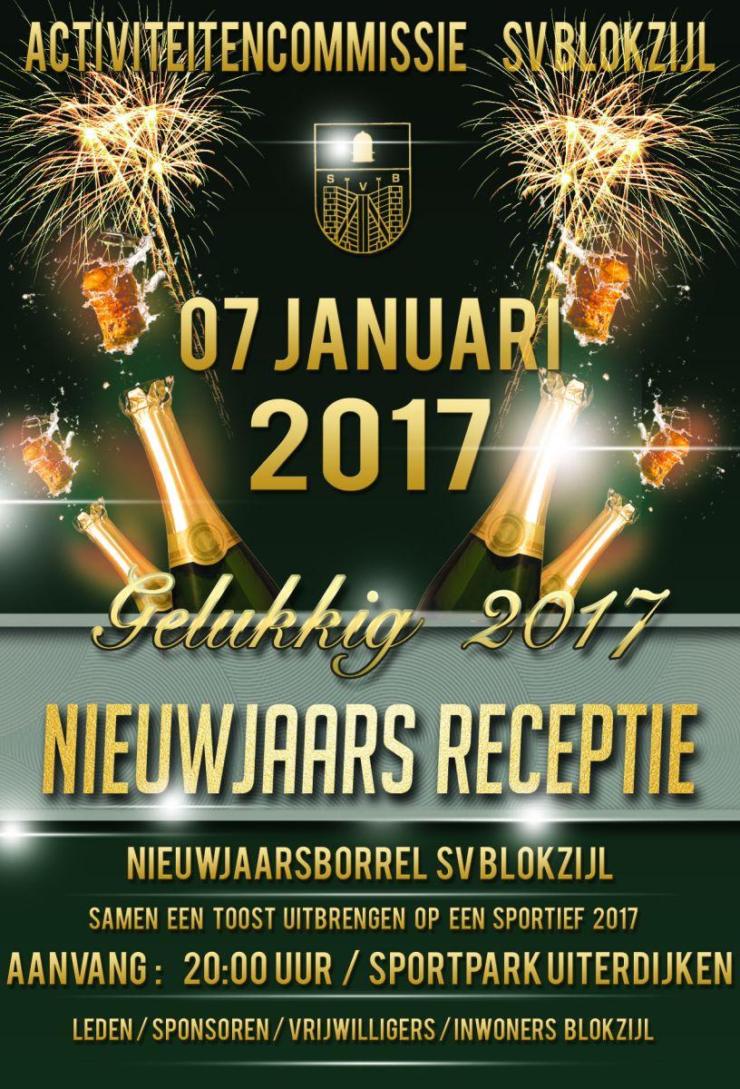 Nieuwjaarsreceptie SV Blokzijl 07 januari 2017
