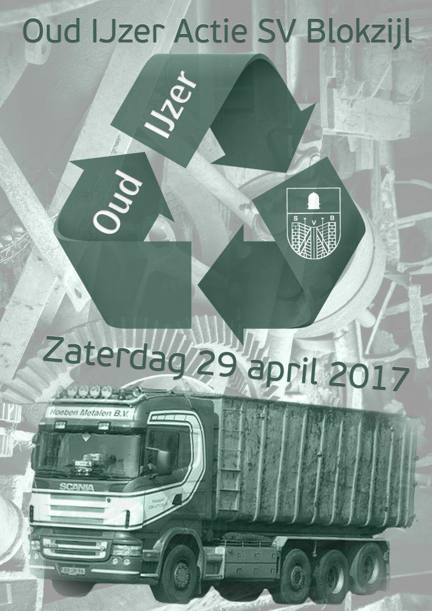 Oud IJzer Actie SV Blokzijl 29 april 2017