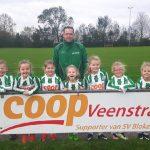 Meisjesteam JO – 8 opgericht in Blokzijl