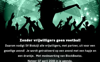 Vrijwilligersavond SV Blokzijl