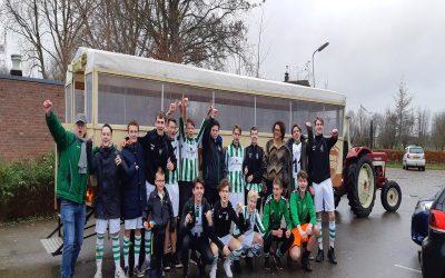 SV Blokzijl JO 17 Kampioen Najaarscompetitie 2018