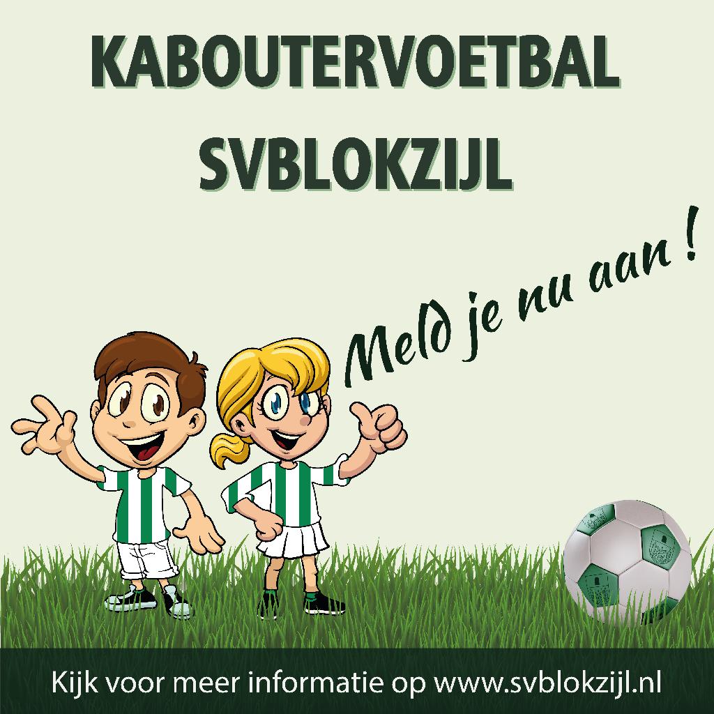 Kaboutervoetbal SV Blokzijl